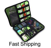 Bubm digital storage sorting bag data cable  power pack hard drive box usb flash drive  accessories bags