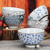 Endulge japanese style tableware ceramic rice bowl massifs 5 decorative pattern unique