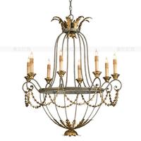 Antique iron american pendant light bedroom pendant light rustic fashion lighting