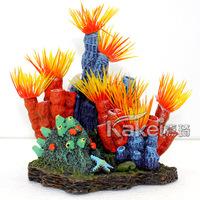 Aquarium fashion decoration rockery coral aquarium decoration resin crafts