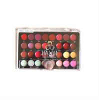 Cosmetics jialin 32 professional makeup palette lip gloss plate lipstick plate lipstick tray