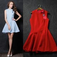 New arrival 2014 women's high quality ladies elegant princess small dress banquet dress one-piece dress