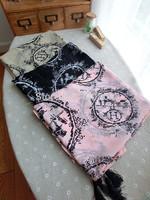 silk velvet fashion scarf silk scarf spring autumn cape