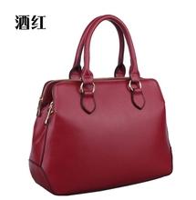 Прибытие женщины сумки натуральная кожа. Дизайн Prado школа стиль на открытом воздухе наплечная сумка / леди мешок Travle мешок