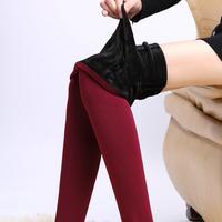 7 Colors 2014 New Plus Cashmere Leggings Winter Fashion Women's Pearl Velvet Plus Velvet Thickening Legging One Piece Warm Pants