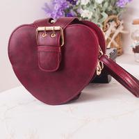 Free shipping Wine fashion red messenger bag vintage shoulder bag fashion female mini bags women's cross-body handbag