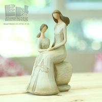 Parent-child decoration resin craft decoration
