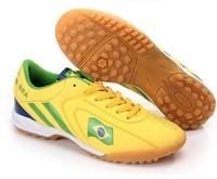 football boots Soccer shoes tf broken short gel nails flat professional football sport shoes for men for women