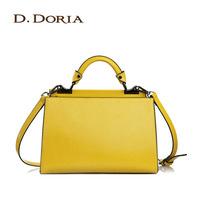 Fashion trend fashion handbag 2014 women's handbag oil leather candy color bags messenger bag briefcase
