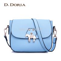 2014 bag one shoulder cross-body small bags cross women's handbag macaron bags