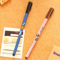 Stationery  korea stationery for super hero unisex simple pen 0.5mm