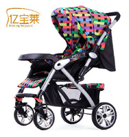 Bora baby stroller car two-way folding light shock absorption baby stroller top quality