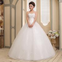 sexy backless wedding dresses  Wedding dress 2014 slim tube top wedding dress formal dress bandage plus size wedding dress