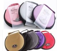 Retail new wholesale car cd case wallet bag cd dvd storage bag holder box bag organizer free dropping