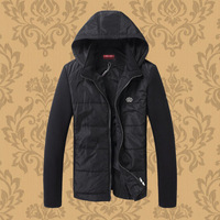 2014 men's winter clothing thickening wadded jacket plus size casual slim winter cotton-padded jacket thermal cotton-padded