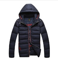 Billionaire italian couture wadded jacket outerwear male 2014 winter new arrival hooded men's clothing M L XL 2XL 3XL