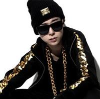 2014 Fashion women Sakun lovers black roll-up beanie metal trademark hip-hop hats comfortable ski thermal warm skullies beanies