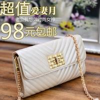 Fashion women's handbag bags 2014 women's handbag shoulder female bag chain plaid