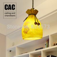 The Mediterranean American countryside style living room lights restaurant children's bedroom lamp resin Art Chandelier