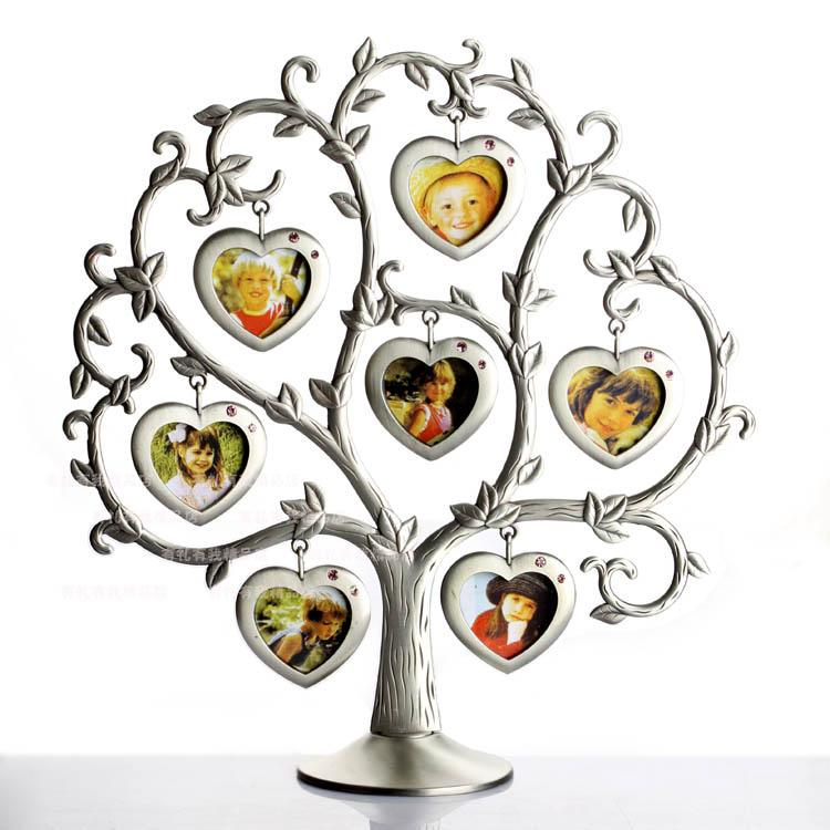 family tree shape photo frame porta retrato home decor art quadro para fotos picture frame. Black Bedroom Furniture Sets. Home Design Ideas