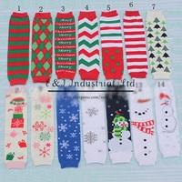 2014 New Christmas Kids Leg Warmers Cotton Baby  halloween Children Socks Child Leg Warms LW41011-24