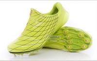 Running spikes ultra-light zipper running shoes sports professional sprint spikes for men for  women's tracking running shoes