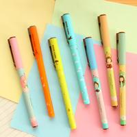 Korea stationery  lackadaisical deli full needle unisex pen dora resurrect