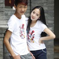 National original trend design lovers short-sleeve T-shirt a30