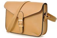 2014 candy color small fresh lockbutton cross-body shoulder bag vintage handbag