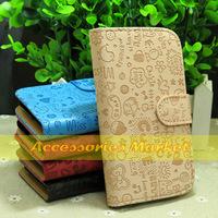 1 Pcs New Fashion Flip Leather Case Cover For HTC Desire SV T326e