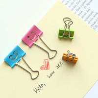 Stationery  lackadaisical cartoon smiley liras clip folder paper clip big Small