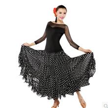 Modern Waltz Tango Ballroom Dance Dress, Smooth Ballroom Dress, Standard Ballroom Dress ,sizeS/ L/ M/ xL/2xl(China (Mainland))