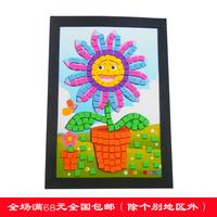 Diy child eva material mosaic sticker child sticker