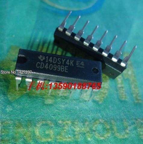 Free shipping X50PCS CD4099BE 8-bit addressable latch DIP-16 DIP(China (Mainland))