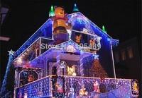 10M 100 LED Colorful Lights Decorative String Lights For Christmas Party Festival Twinkle EU Plug 220V