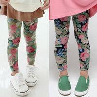 2014 autumn flower girls clothing baby child legging long trousers kz-2208