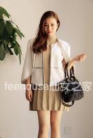 High quality feehouse sass bide endurably beading wool outerwear cloak