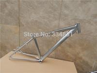 Titanium scale-free mountain bike frame high quality aluminum alloy frame 26 17 mountain bike frame+Freeshipping