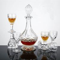 Bohemia crystal wine kit hanap red wine cup bar set wine glass bottle