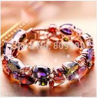 European and American fashion zircon bracelet Mona Lisa