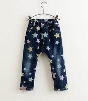 5pieces/lot, Korean Style Fashion Children Boys Star Jenas Blue,  A-SL488