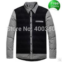 Plus size wadded jacket male winter plus size plus size thermal cotton-padded jacket thickening cotton-padded jacket Men men's