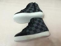 Retail  Brand  2014  New  fashion  spring/autumn  children's  shoes  plaid  pattern  zipper  boy's  shoes  free  shipping