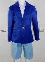 cosplay anime costume  Conan Children's wear suit