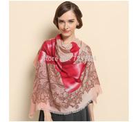 NEW arrival female wool scarf dual purpose big shawl and muffler