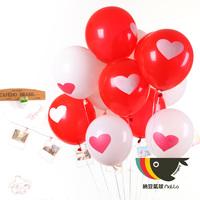 """12"""" Round Balloon Helium Balloon arch big style married wedding supplies thickening birthday balloon"""