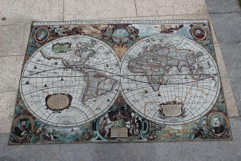 Tapeçaria decoração murais tapeçaria pinturas de tecido novo mapa chegada nova chegada(China (Mainland))