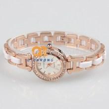 Ladies Analog Crystal Rhinestone dress watch women leisure beautiful Top Sale Watches Temperament quartz clock gift