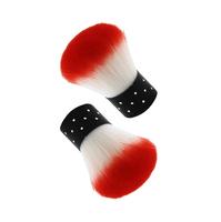 drop shipping Hot sale Practical Cute Nail Beauty Brush Tool Gel Nail Art Colored Dust Cleaner MU-043