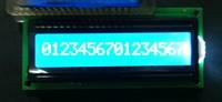 Wholesale 16x1 character LCD display Gray film Yellow-green film Blue film Black film Optional 1601 dot matrix LCM module
